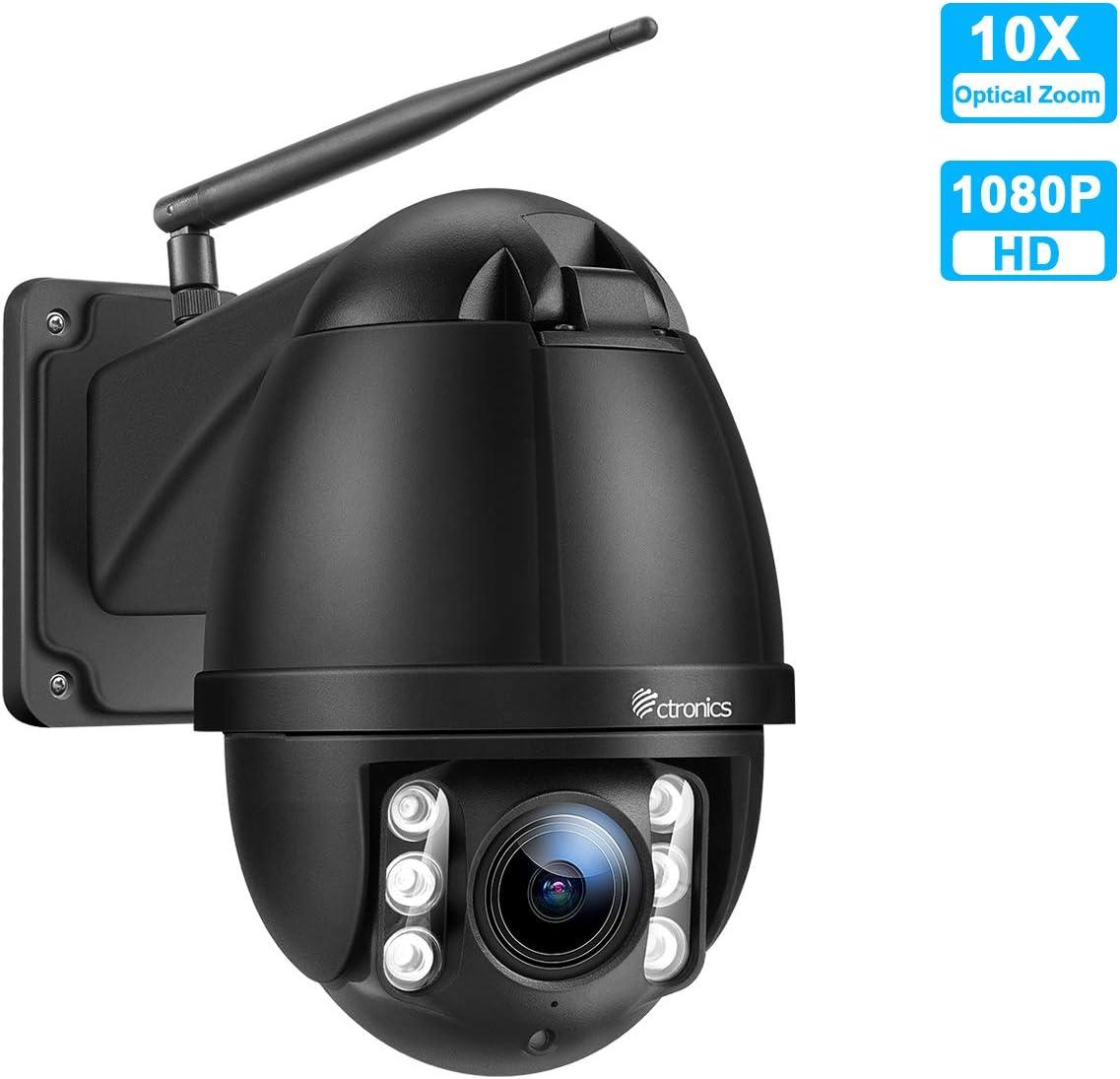 PTZ IP Dome Kamera Aussen Ctronics uuml berwachungskamera