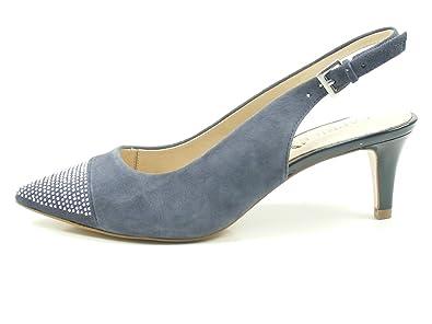 f34508ecc3c723 CAPRICE Damen Pumps 99 29608 20 816 blau 404086  Amazon.de  Schuhe    Handtaschen