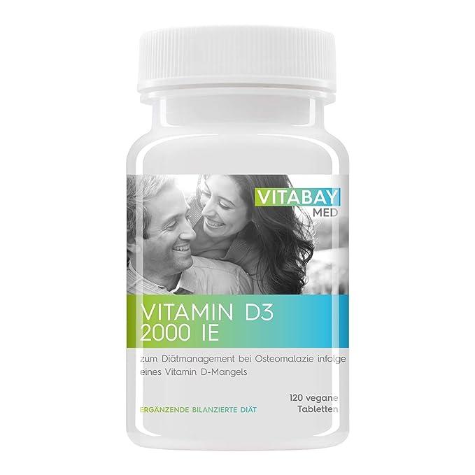 1 opinioni per Vitabay, Vitamina D3, 2000I.E.