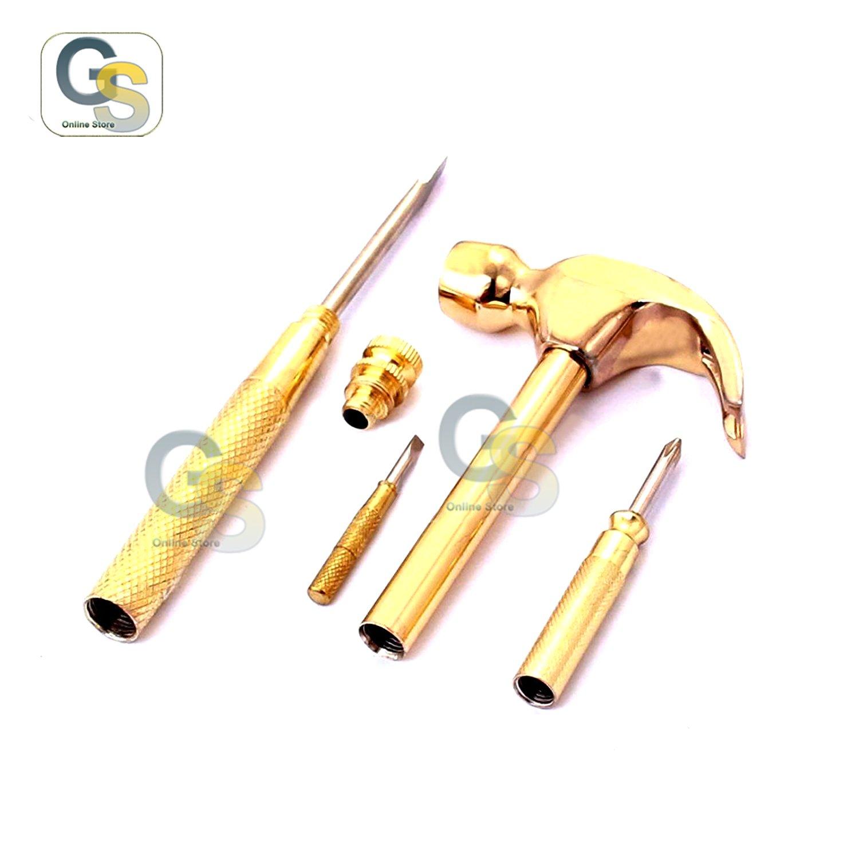 G.s 6 en 1 destornillador herramienta mejor calidad y martillo de ...