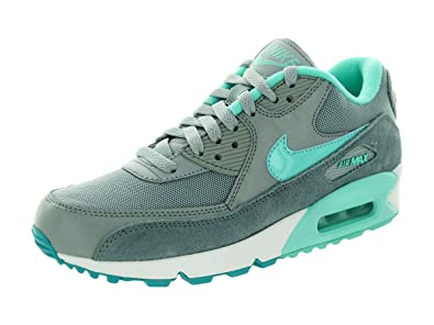 eaaa4df443 Amazon.com   Nike Women's Air Max 90 Essential Slvr Wng/Hypr Trq ...