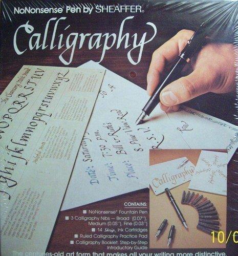 No Nonsense Pen By Sheaffer Calligraphy Kit by Sheaffer B003XP569O