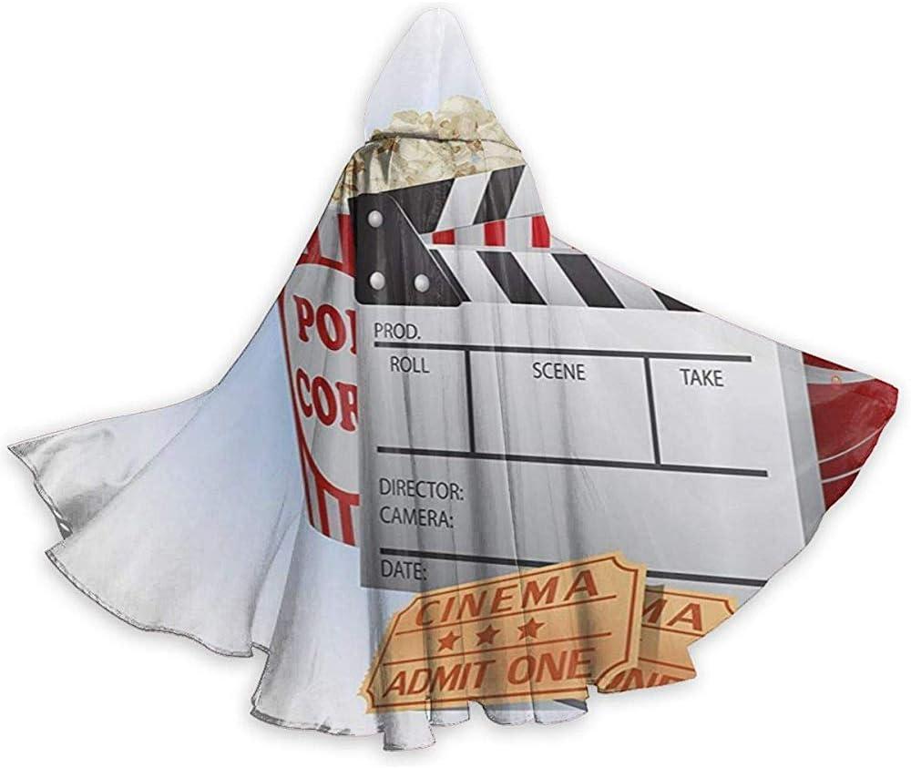 Mitta Yane Hooded Cape Disfraz de película Completa de Palomitas de maíz y tablillas estrena Trajes con Capucha con Capucha: Amazon.es: Hogar