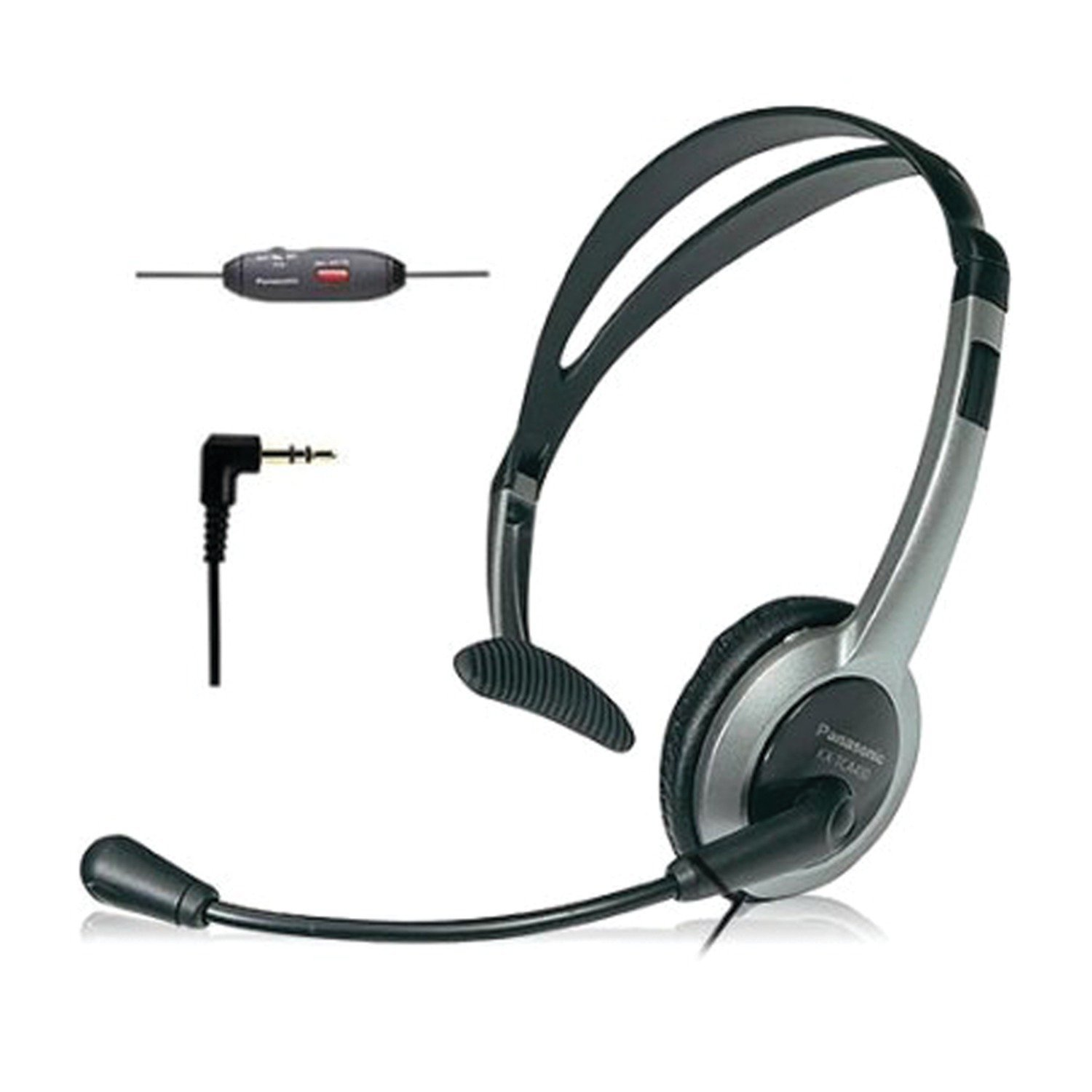Panasonic KX-TCA430 Comfort-Fit, Foldable Headset with Flexible Noise-Cancelling Microphone and Volume Control by Panasonic