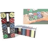 MEDIA WAVE store Set de Poker 200