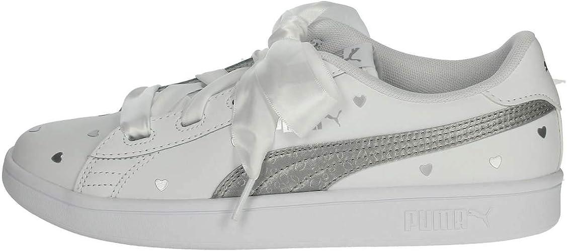 puma bianche e argento