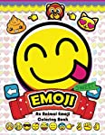 Emoji Coloring Book: Fun Emoji and Animal Designs, Collages and Funny