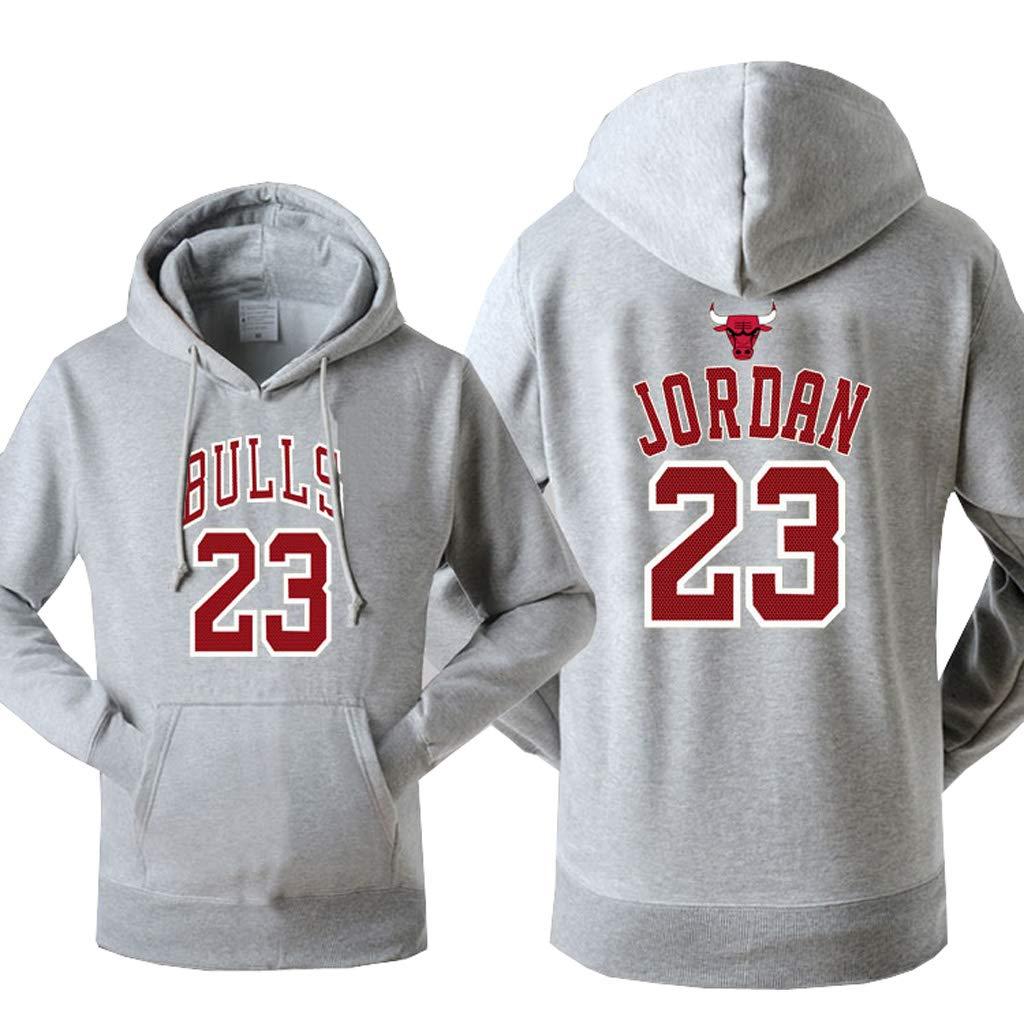 Hombres Jordan Sudaderas con capucha Bulls Impreso Pullover ...