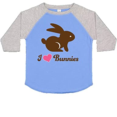 inktastic My Abuelito Loves Me with Bunny and Easter Toddler Long Sleeve T-Shirt