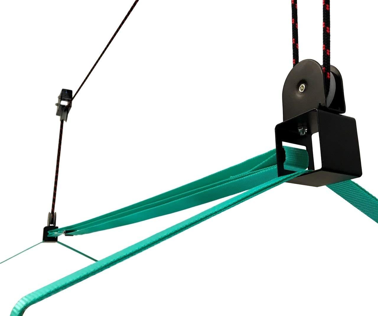 StoreYourBoard Elevador de Almacenamiento de Techo de Carretilla Elevador de polea Colgante para hogar y Garaje
