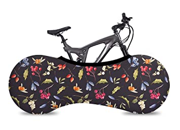 VELOSOCK Bicycle Bike Covers for Indoor Storage - 2018 Collection - Keeps Floors and Walls Dirt-Free - Fits 99% of All Adult Bicycles