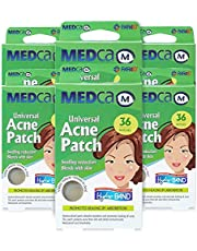 Acne Care Pimple Patch Absorbing Cover - Hydrocolloid Bandages (216 Count) Two Universal Sizes, Acne Spot Treatment for Face & Skin Spot Patch That Conceals Acne, Reduces Pimples and Blackheads