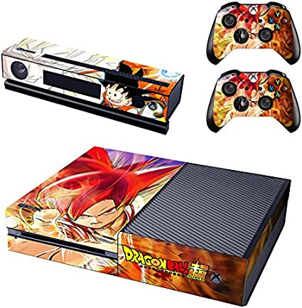 YHC Dragon Ball Super Decal Skin Sticker for Microsoft Xbox One ...
