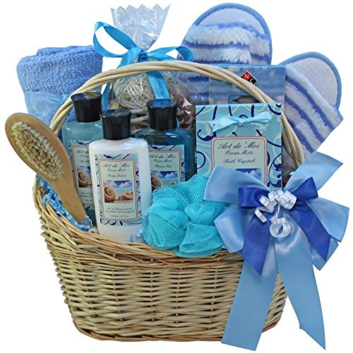 Ocean Mists Spa Bath and Body Gift Basket Set (Gift Basket Websites)