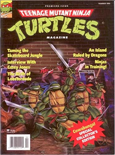 Teenage Mutant Ninja Turtles Magazine (Summer 1990): Donald ...