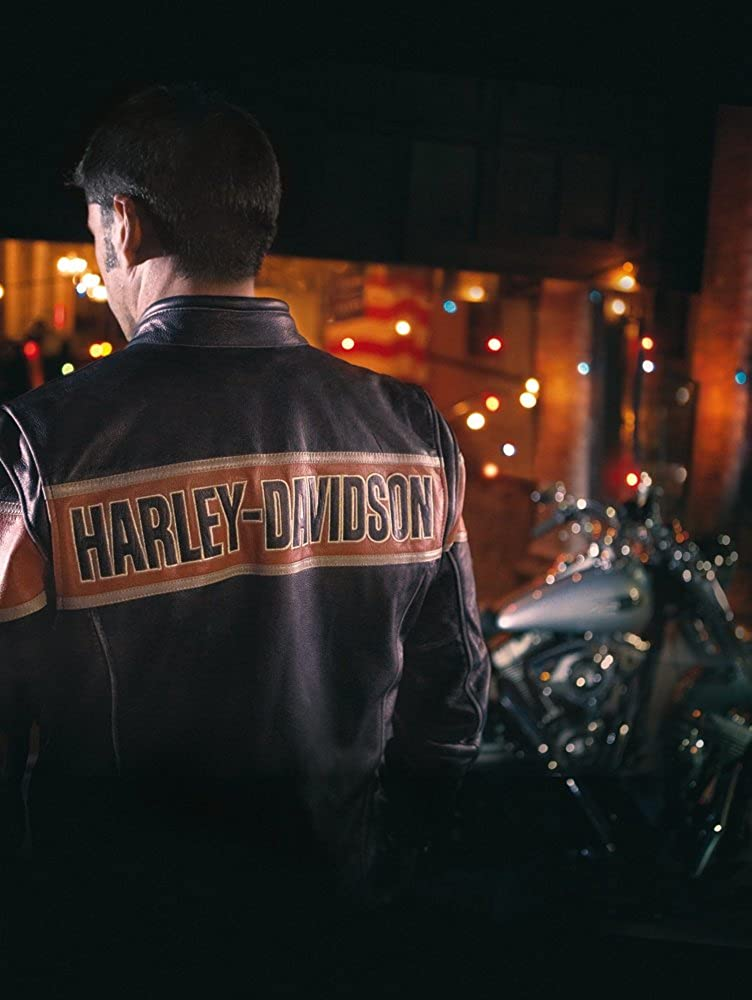 Harley Davidson Victory Lane Leather Jacket 98057-13VM Herren Outerwear