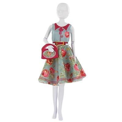 MaRécréation Dress Your Doll Peggy Peony : Coudre habit Poupée Mannequin - Fabrique vêtement Barbie.