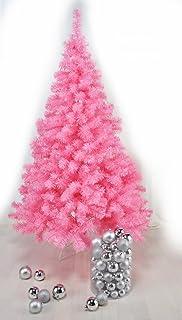 pink christmas tree made of plastic with stand 150 cm - Pink Christmas Tree Lights