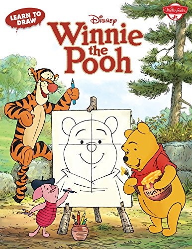 Learn to Draw Disney's Winnie the Pooh: Featuring Tigger, Eeyore, Piglet, and other favorite characters of the Hundred Acre Wood! (Licensed Learn to (Eeyore Character)