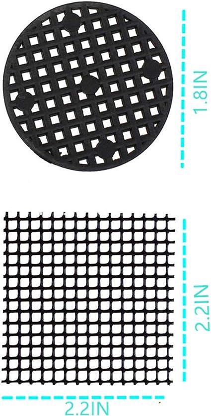25PCS Flower Pot Hole Mesh Pad Bonsai Pot Bottom Grid Mat Bottom Mat Prevent~lw