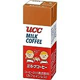 UCC ミルクコーヒー カフェインレス (紙パック) 200ml×24本