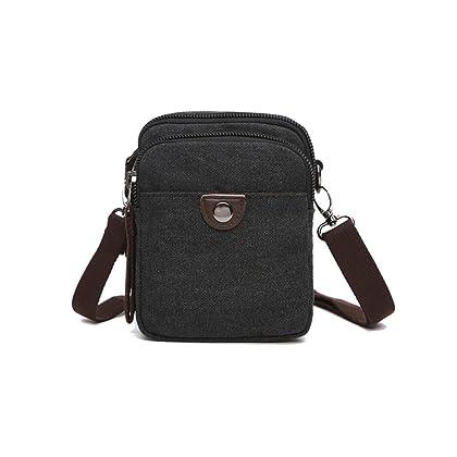 0dd62726c1fb ... ENKNIGHT Nylon Crossbody Purse Bag for Women Travel Shoulder handbags ( Black-s) ...