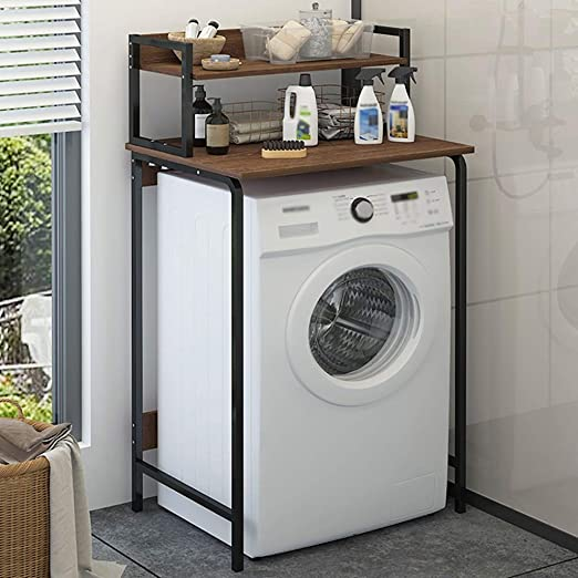 Estante de la lavadora acero lavado estante Practical carbono ...