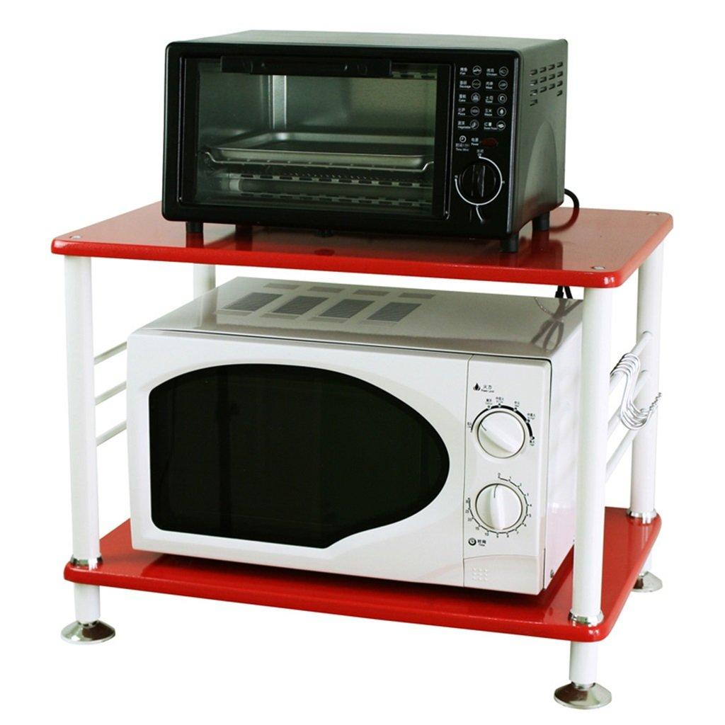 Chen El segundo piso de la cocina Estantería Estantería Hornos de microondas Estante Horno Rack Admisión Rack de almacenamiento (Color : #2): Amazon.es: ...