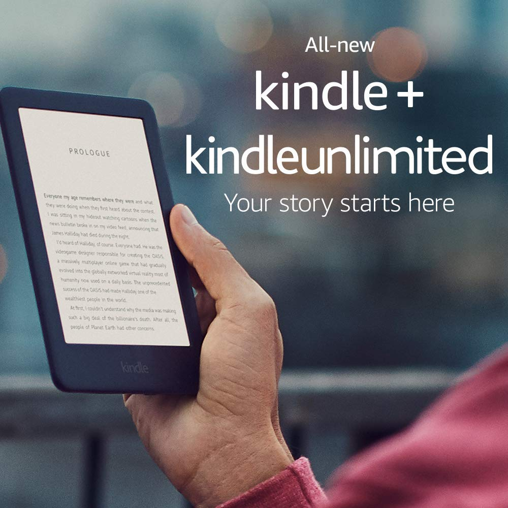 Certified Refurbished Kindle - Now with a Built-in Front Light - Black - Includes Special Offers + Kindle Unlimited (with auto-renewal)