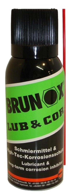 Lubricante anti corrosión Brunox lub & Cor en aerosol 100 ml: Amazon.es: Deportes y aire libre