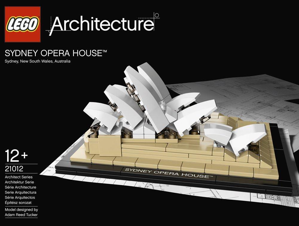 LEGO Architecture 21012 - La Ópera de Sydney: Amazon.es: Juguetes y juegos