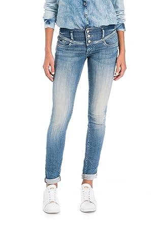 Salsa Jeans Mystery Vaqueros Slim para Mujer: Amazon.es ...
