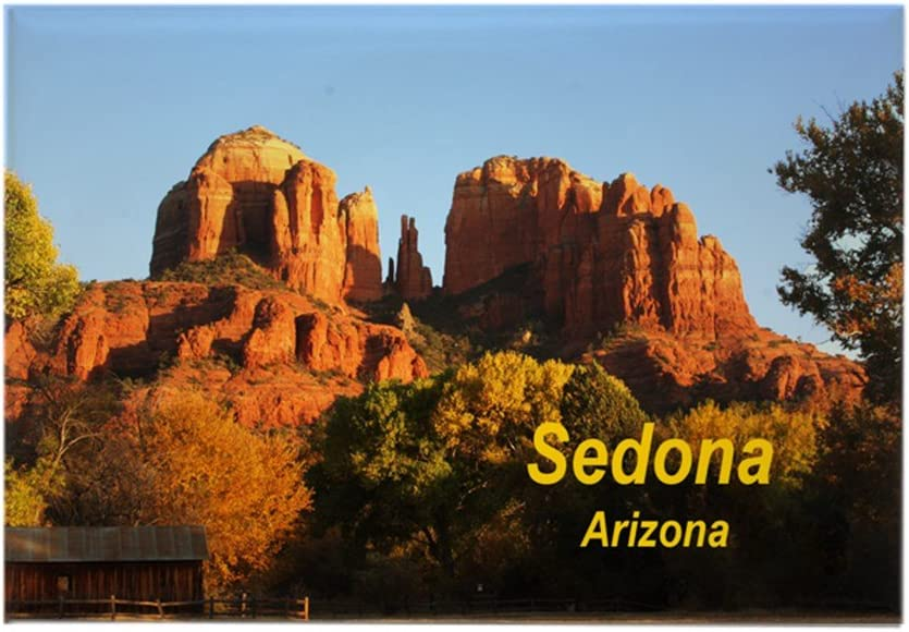 "CafePress Sedona Rectangle Magnet Rectangle Magnet, 2""x3"" Refrigerator Magnet"