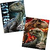 Jurassic World Two Pocket Portfolio Folders - Set of 2