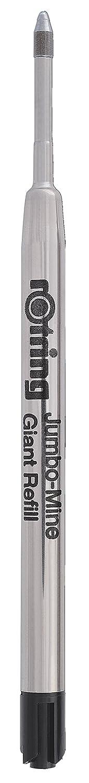 rOtring S0195390 Ball Pen Refills - Black (Pack of 5) 1904843