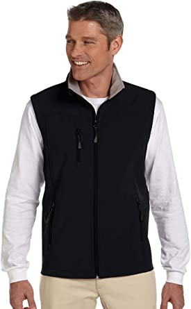 D /& Jones Mens DEJN-D996 Soft/Shell Vest