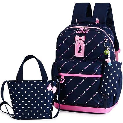3b8bb2d7fb JJSSGJBB Student backpack Children School Bags Teenagers Girls Printing Rucksack  school Backpacks 3pcs Set Mochila
