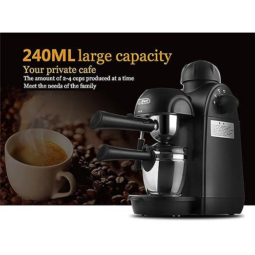 Red tide Máquina De Café Expresso, 400W + 3.5Bar Cafetera Espresso ...