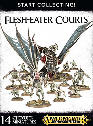 Games Workshop 99120207039'' Flesh-Eater Courts: Star Collecting Action Figure