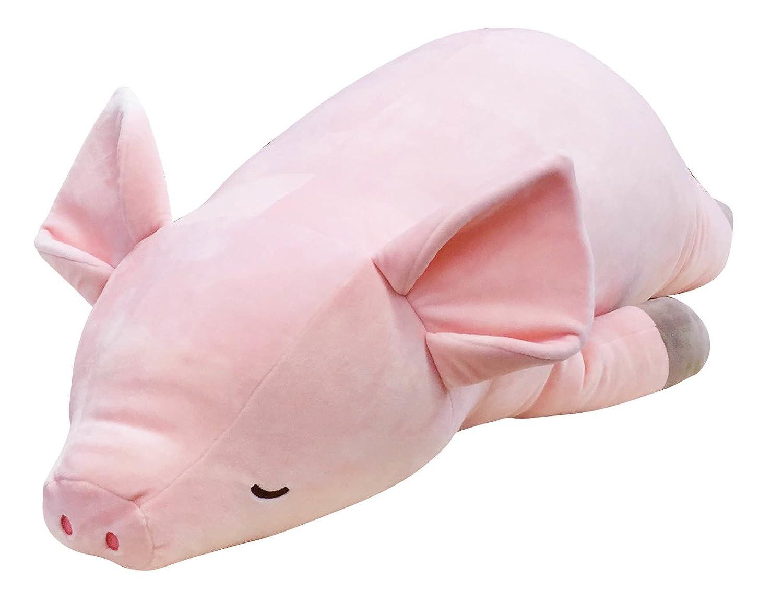 予約販売 ねむねむ ブタのピンキー BIGサイズ NEMU NEMU 抱き枕 プレミアムねむねむ クッション もちもち ふわふわ ぶた 豚 B01HRD4KX0