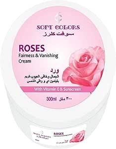 SOFT COLORS ROSES FAIRNESS VANISHING CREAM 300 ML