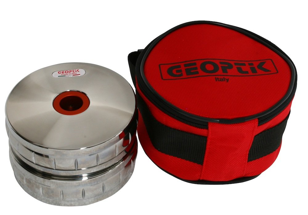 Geoptik 30A049 Borsa Imbottita per Telescopio Rosso