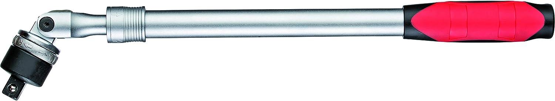 GEDORE Cliquet t/élescopique articul/é et r/éversible Rouge R60110009