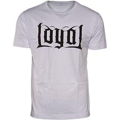 Kontra K Loyal Circle Weiß T-shirt Fanartikel & Merchandise