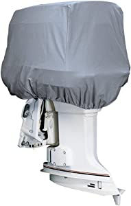 attwood Road Readyx2122; Cotton Heavy-Duty Canvas Cover f/Outboard Motor Hood
