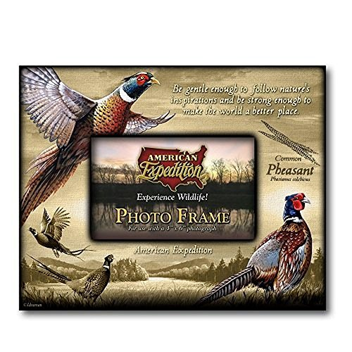 Expedition Frame - American Expedition Pheasant Canvas Photo Frame