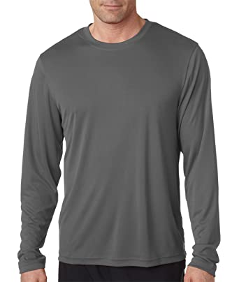 545f66d2b Image Unavailable. Image not available for. Color  Hanes Men s Two Pack of  Long-Sleeve Cool Dri T-Shirts