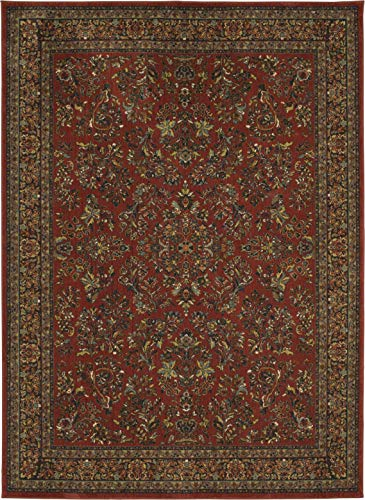 Karastan Spice Market Berdan Garnet 2' 4'' X 7' 10'' Runner Area Rug - Original Karastan Collection Runner
