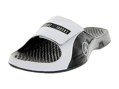 5f5187f709d Nike Jordan Alpha FLoat Premier Men Flipflops Black/Concord/White  414786-002 (