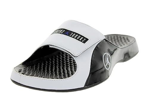 b7f5c5b0936c Nike Jordan Men s Jordan Alpha Float Premier Black White Concord Sandal 12  Men US  Amazon.ca  Shoes   Handbags